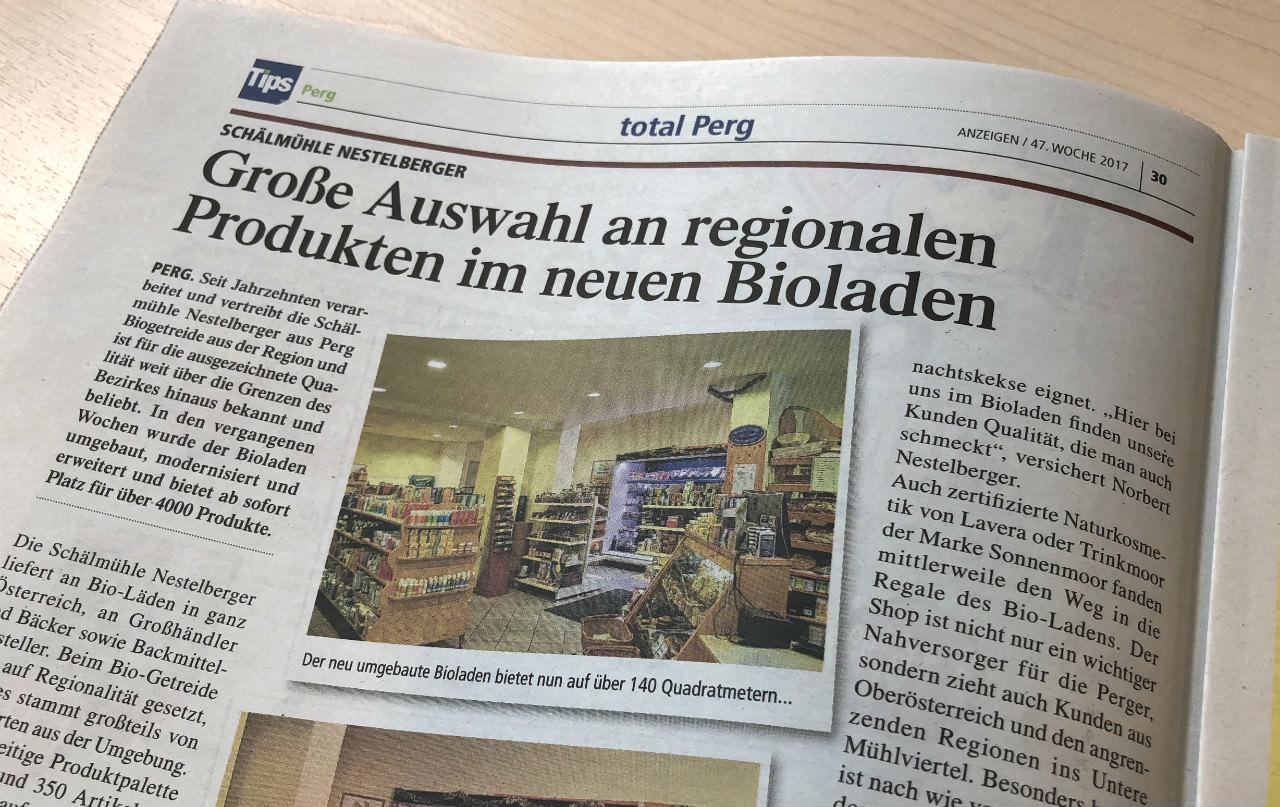 Große Auswahl an regionalen Produkten im neuen Bioladen