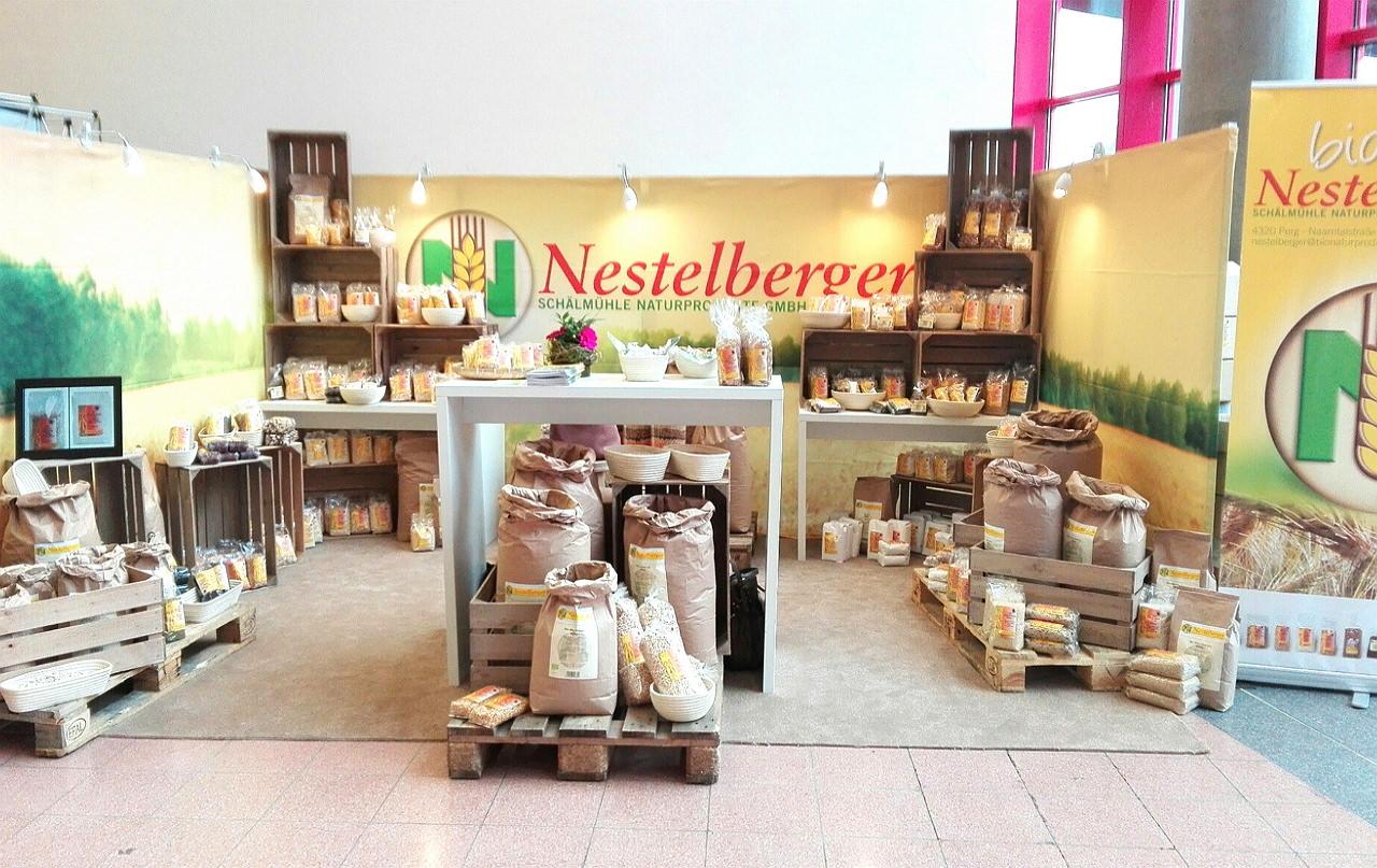 Nestelberger auf der BIO ÖSTERREICH-Messe in Wieselburg